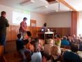 Přednáška v číhané