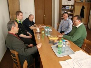 První schůzka se starostou Manětína