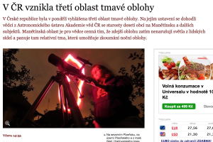 článek na webu Novinky.cz