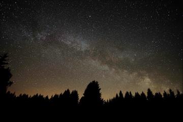 vycházející Mléčná dráha