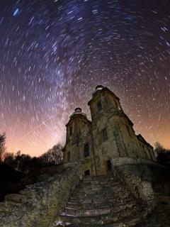 stopy hvězd nad Skoky